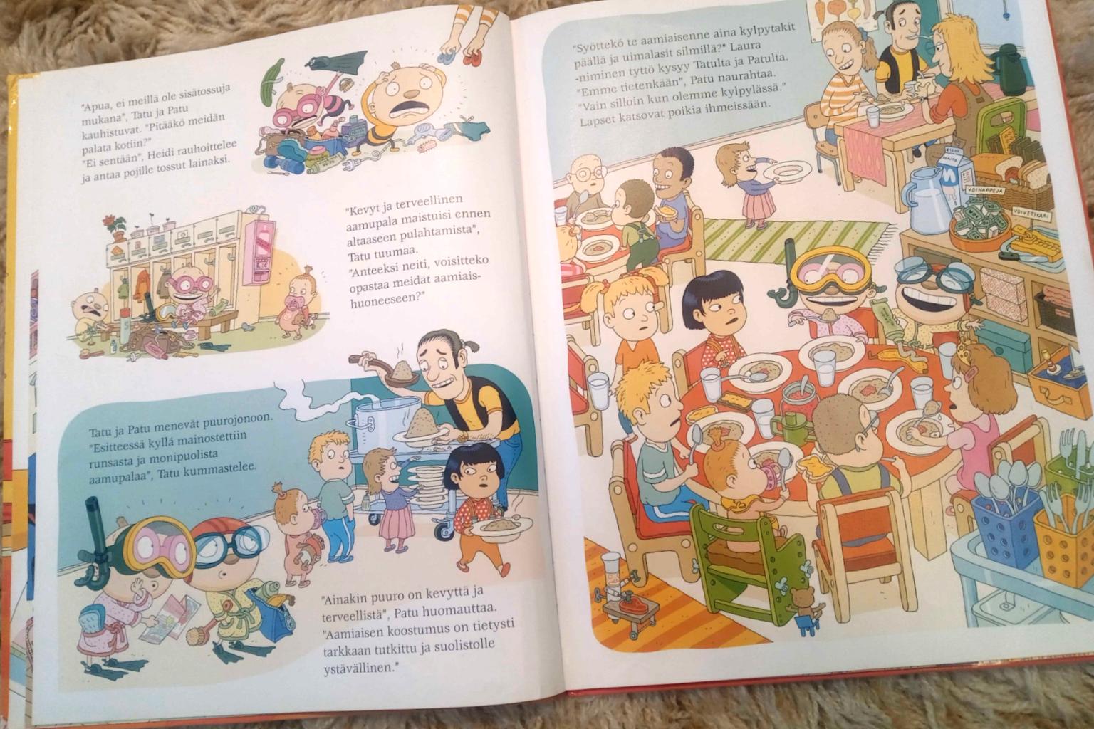 Kirjavinkki Tatu ja Patu, jota lukiessa kieli kehittyy